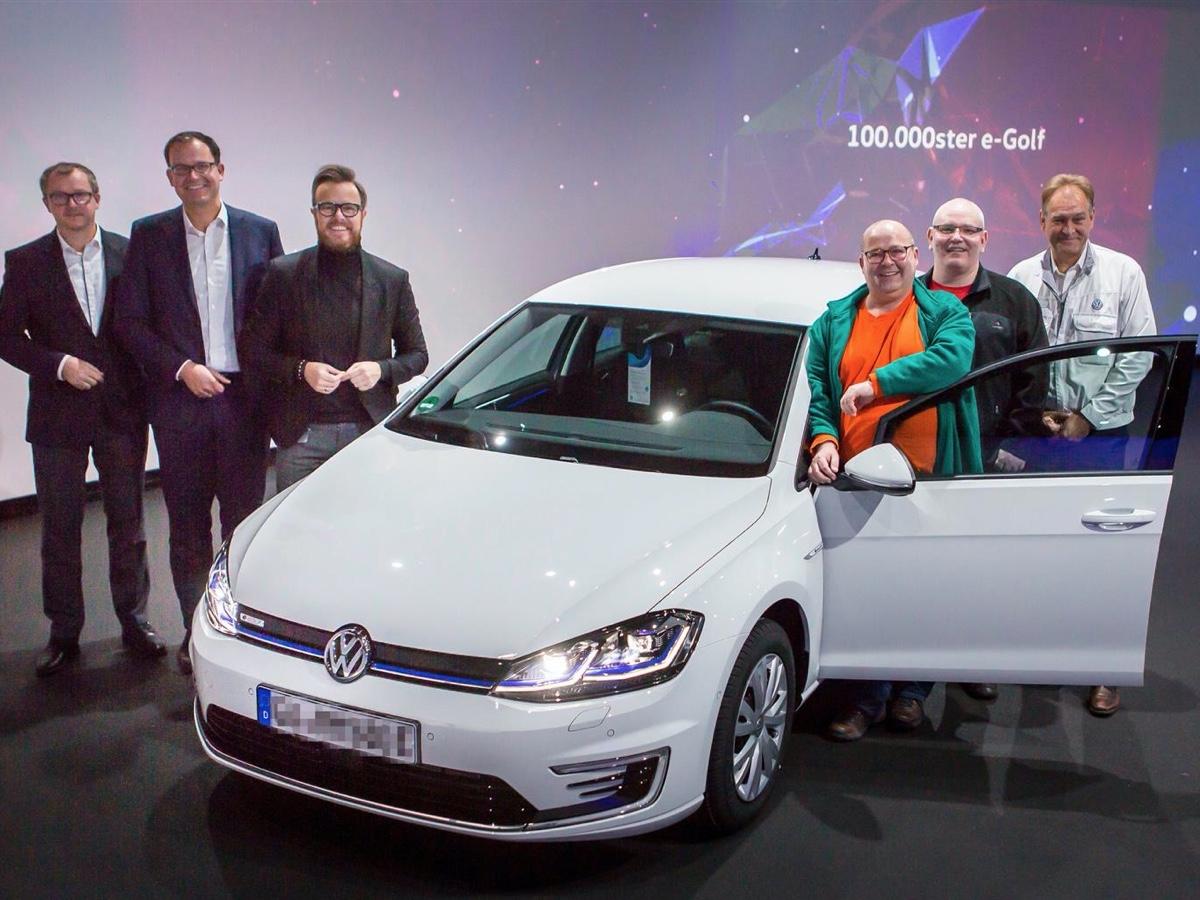 Volkswagen 100.000 e-Golf prodotte a Dresda