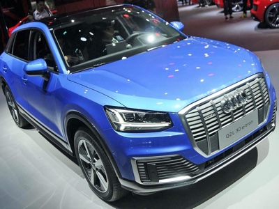 Audi launches first locally built EV in China