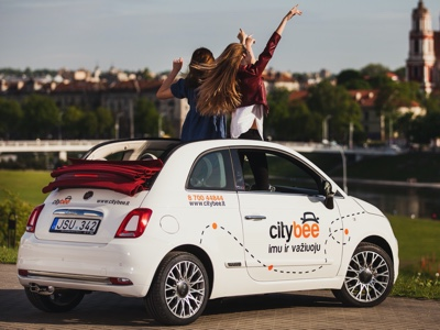 The Fiat 500 revamps car sharing services in the Baltics