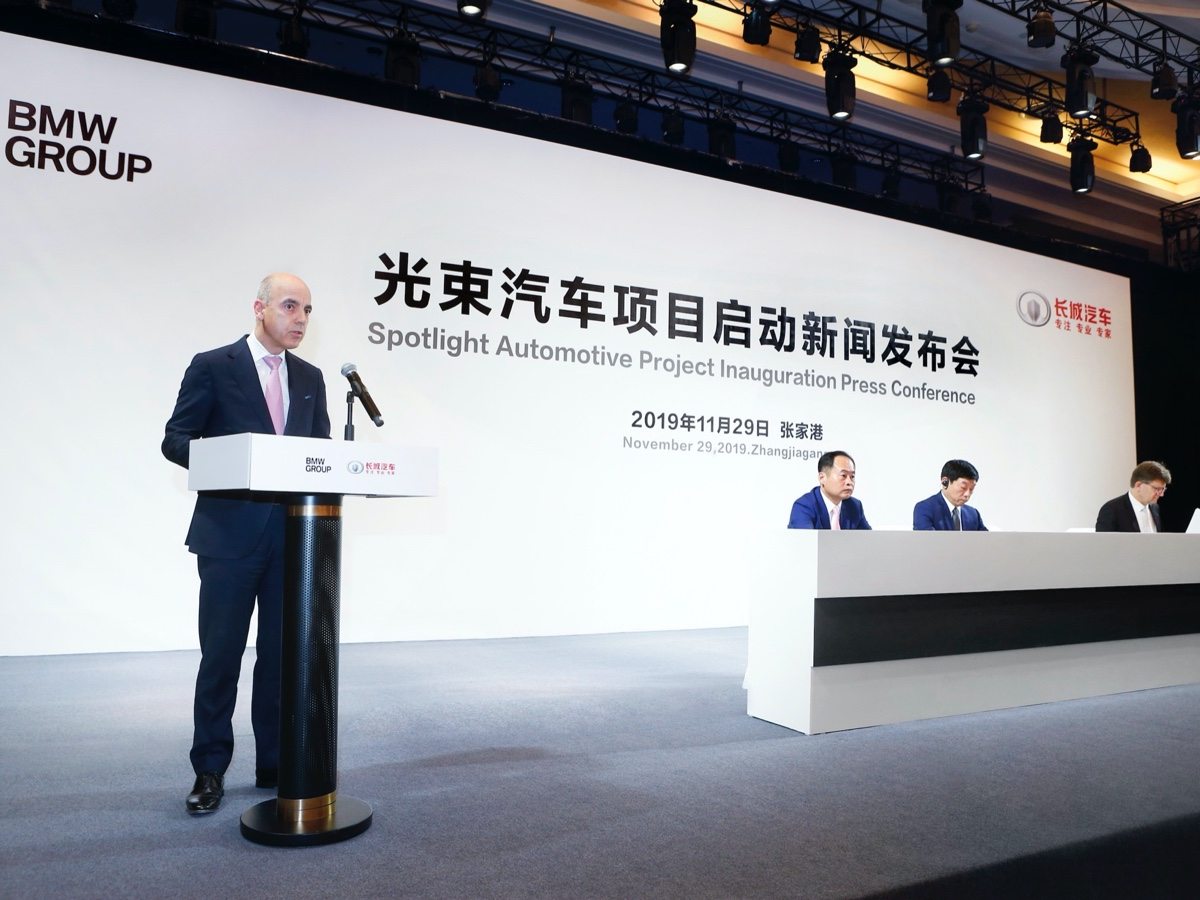 BMW e Great Wall joint venture Cina