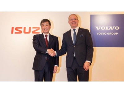 Volvo Group and Isuzu sign MoU for strategic alliance within commercial vehicles