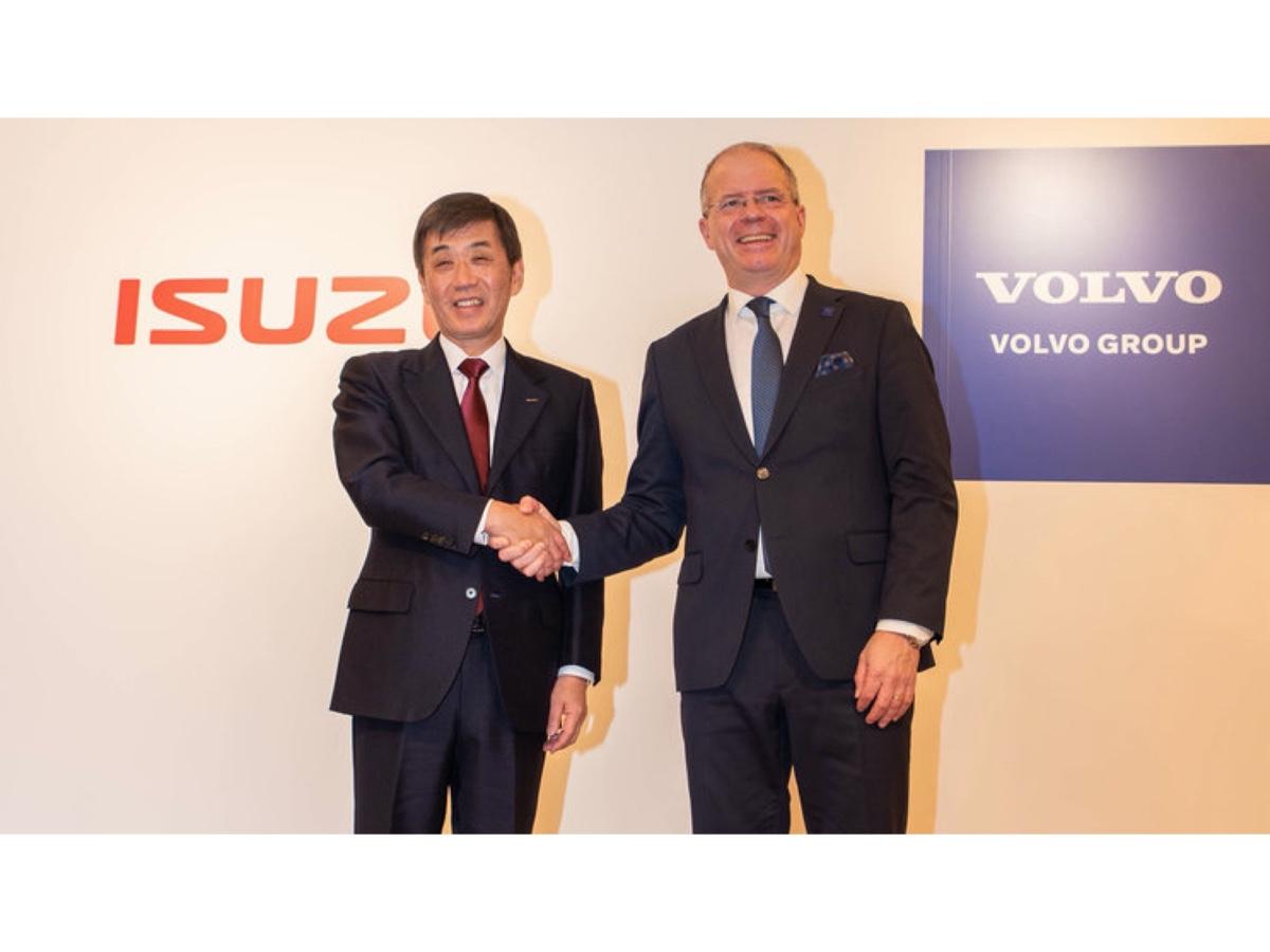 Isuzu e Volvo alleanza globale per i truck