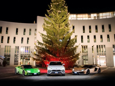 Lamborghini Christmas Drive celebrates a successful 2019