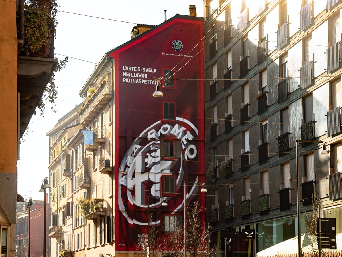 Alfa Romeo Art wall