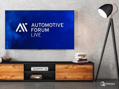 Automotive Forum LIVE, il nuovo format di approfondimenti di Quintegia