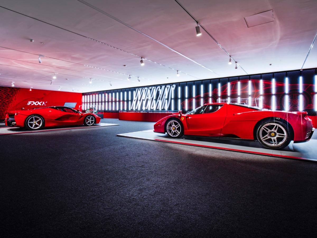 Museo Ferrari mostra Hypercars