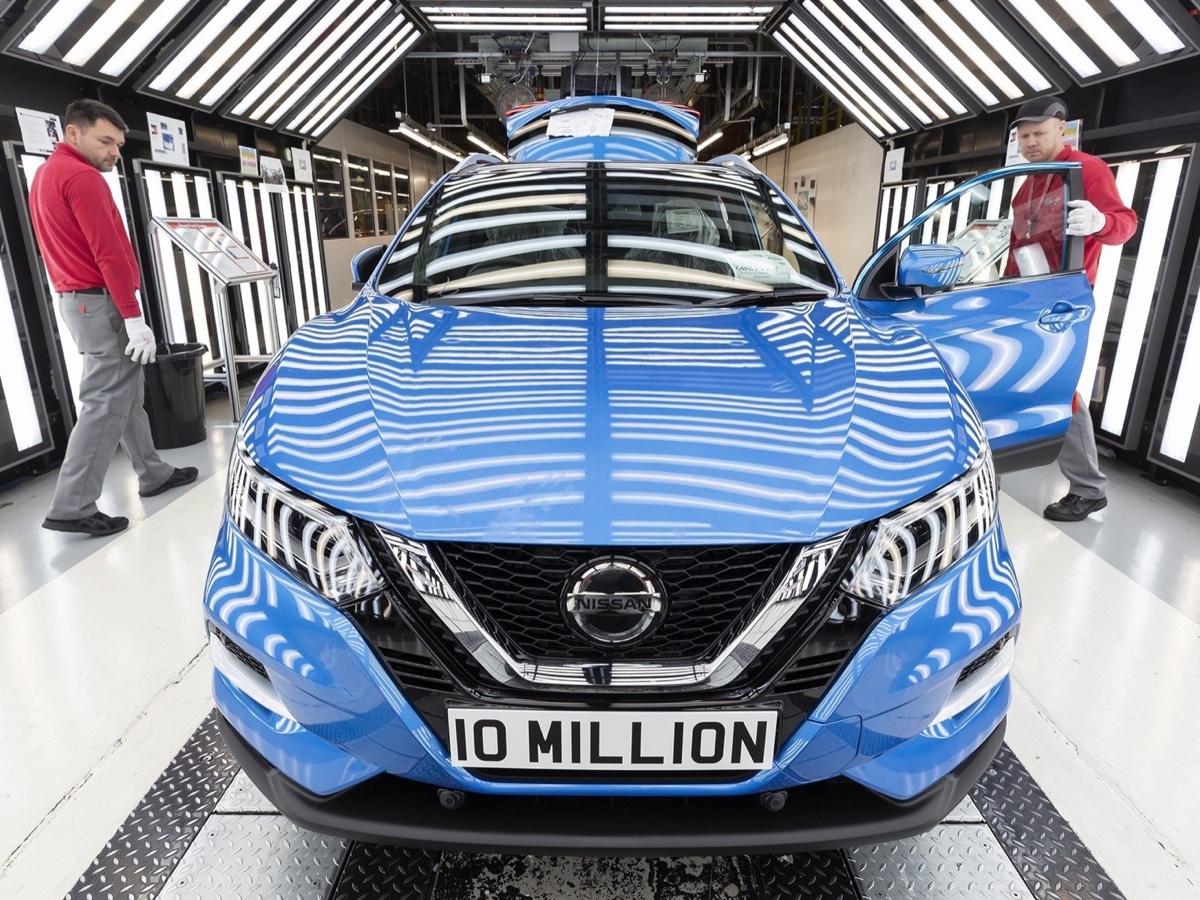 Nissan Qashqai - 10 milioni di veicoli prodotti a Sunderland (UK)