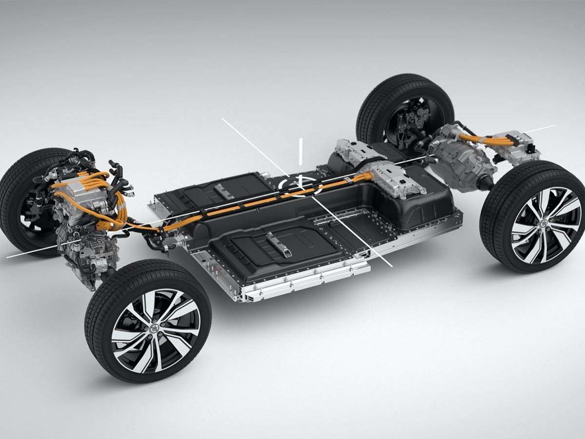 Volvo XC40 pacco batterie