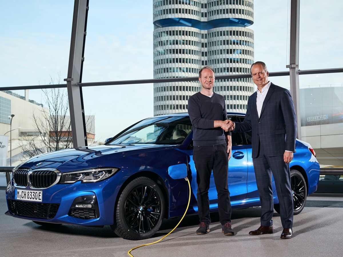 BMW consegnata la 500millesima auto elettrificata