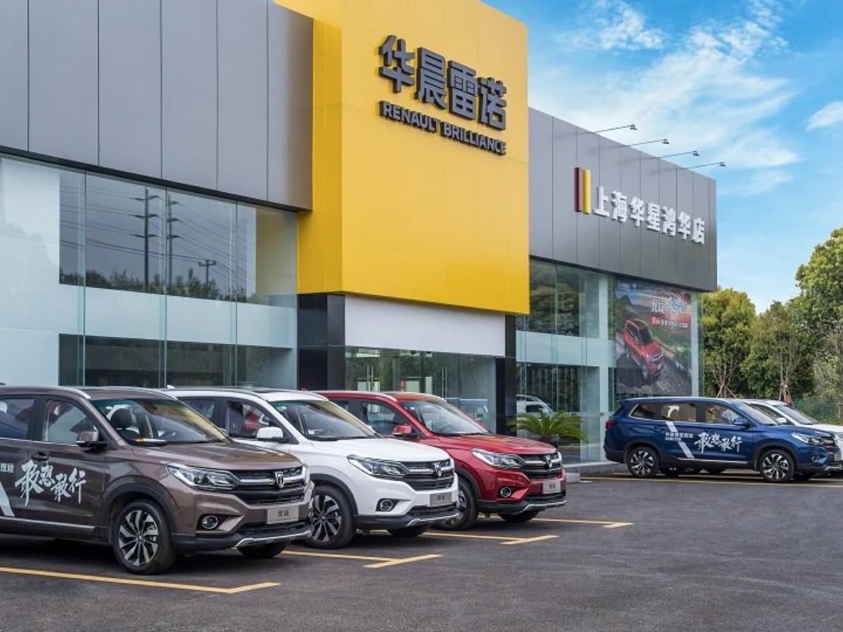 Renault concessionario Cina