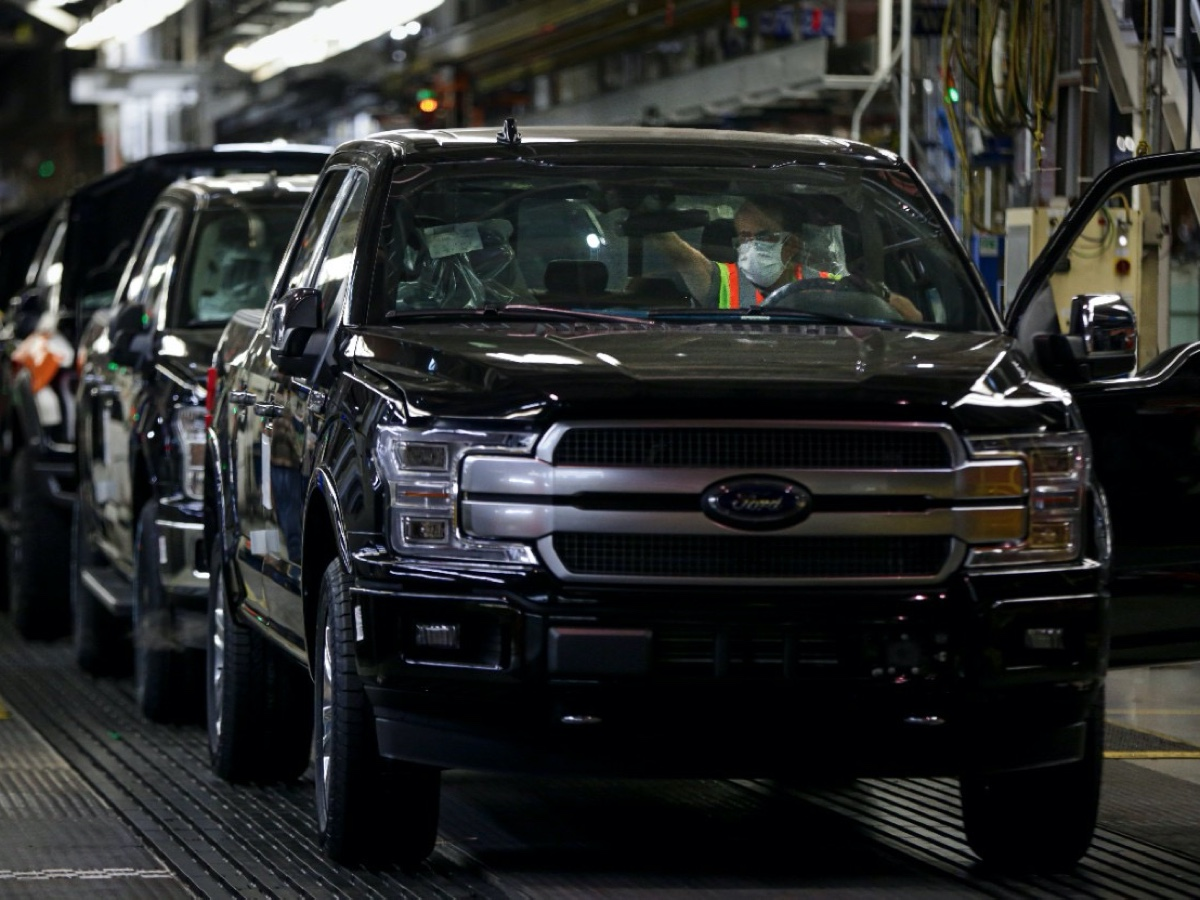 Ford Dearborn truck assembly plant