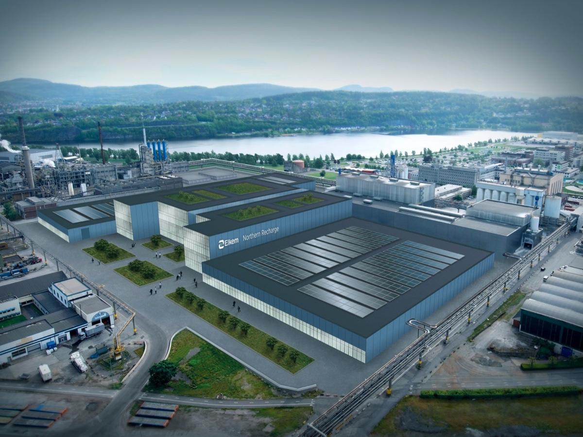 Elkem Northern Recharge factory a Herøya (Norvegia)