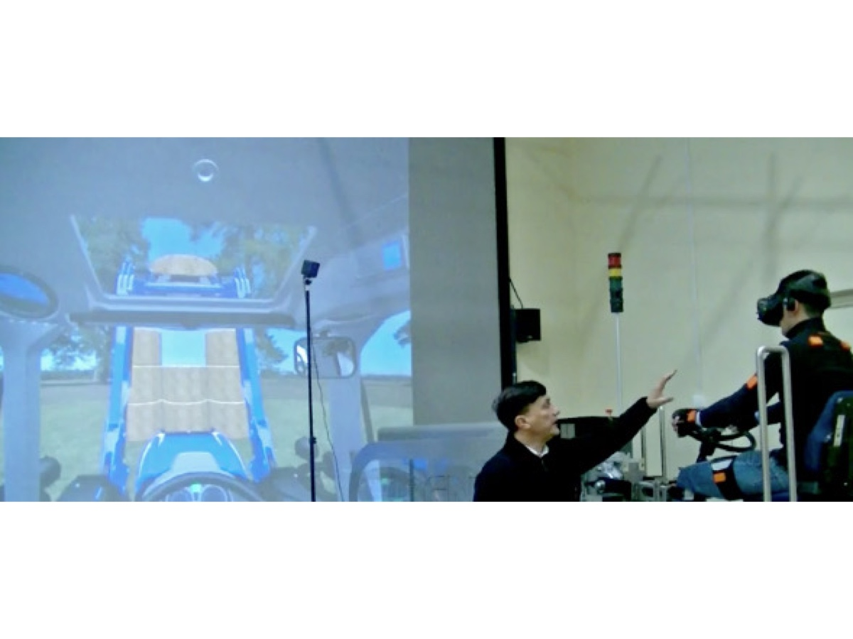 CNH Industrial realtà virtuale