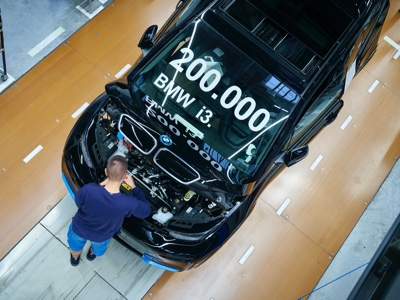 BMW celebra 200mila i3 finora prodotte a Lipsia