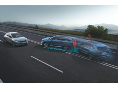 Multi-Collision Braking Assist di serie per il nuovo Kia Sorento