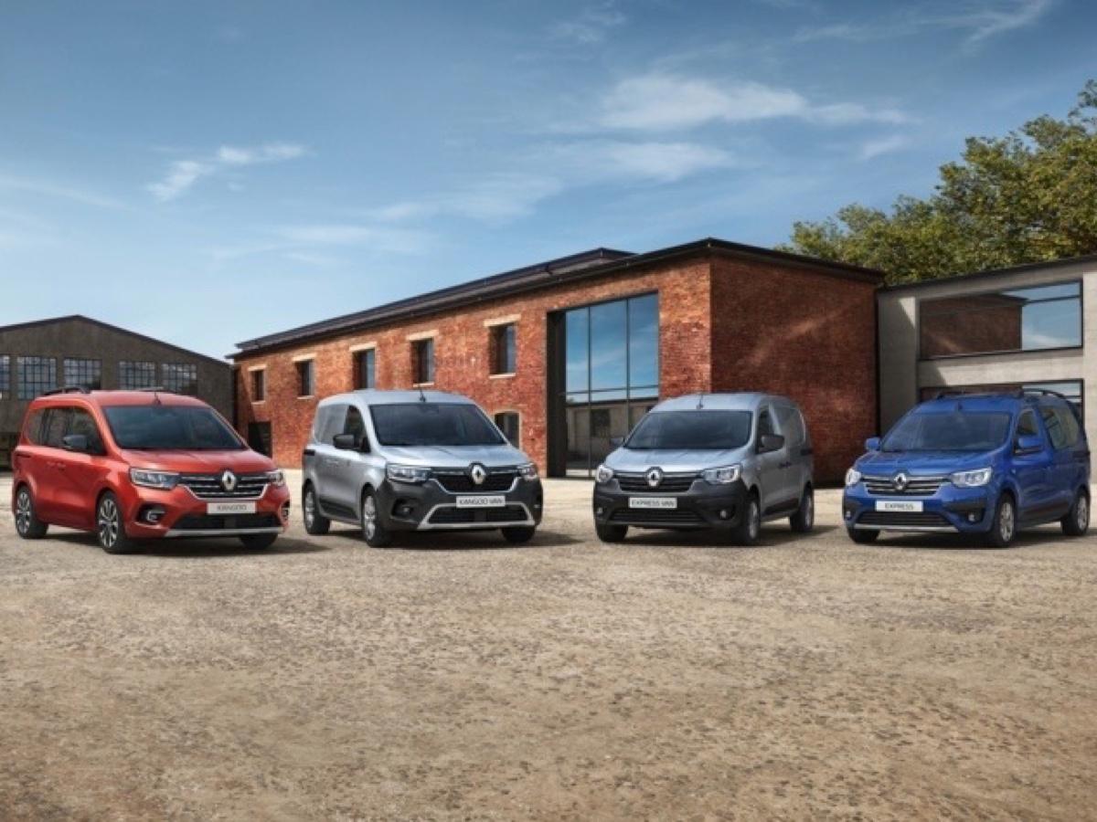 Renault Kangoo ed Express gamma