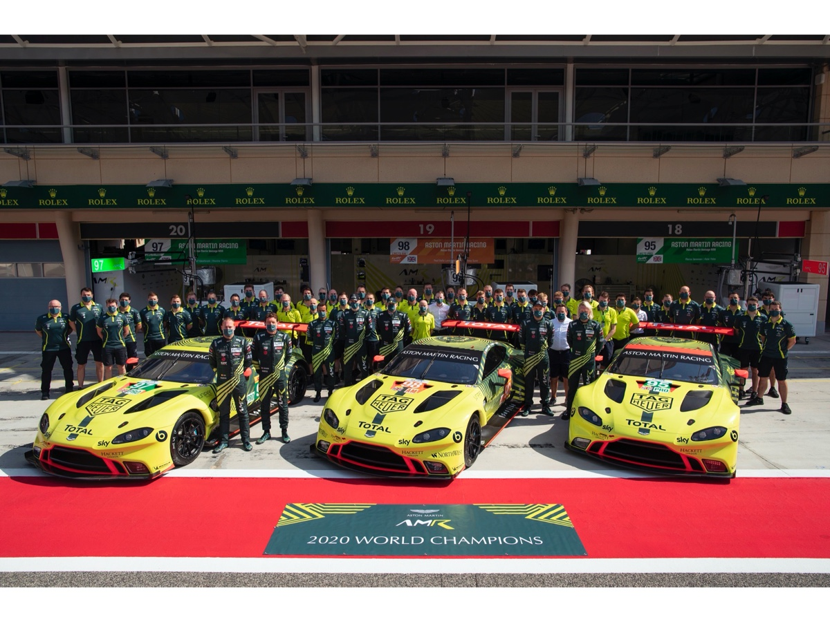 Aston Martin Racing champion team