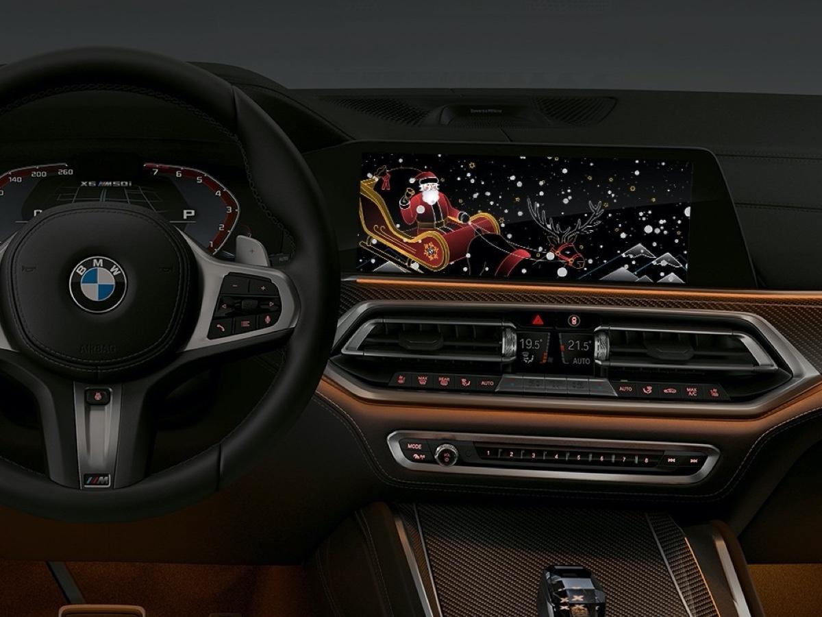 BMW auguri festività
