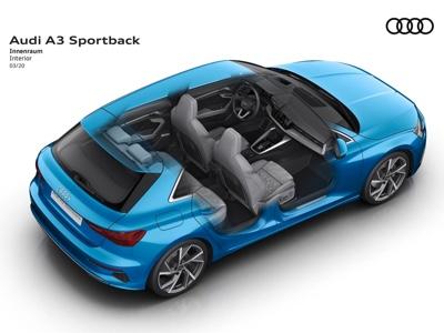 Ancora più sicurezza per Audi A3 con l'airbag centrale anteriore