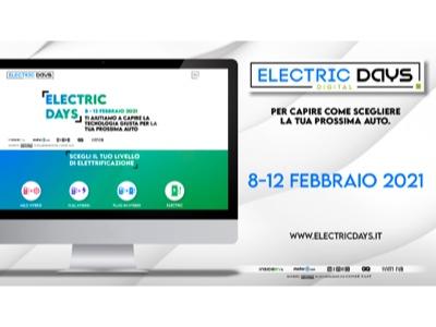 Dall'8 al 12 febbraio la 1ª edizione di Electric Days Digital