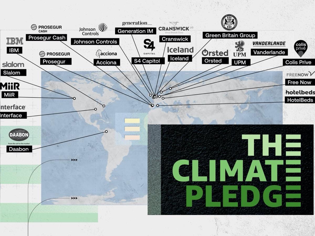 Amazon The Climate Pledge