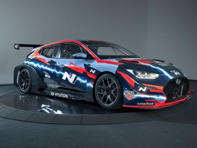 Hyundai parteciperà al campionato turismo elettrico con la Veloster N ETCR