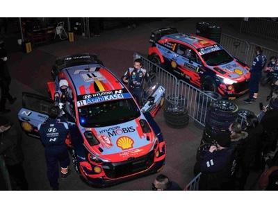 Hyundai Rally Team Italia e Hyundai Motorsport al 68° Rallye Sanremo