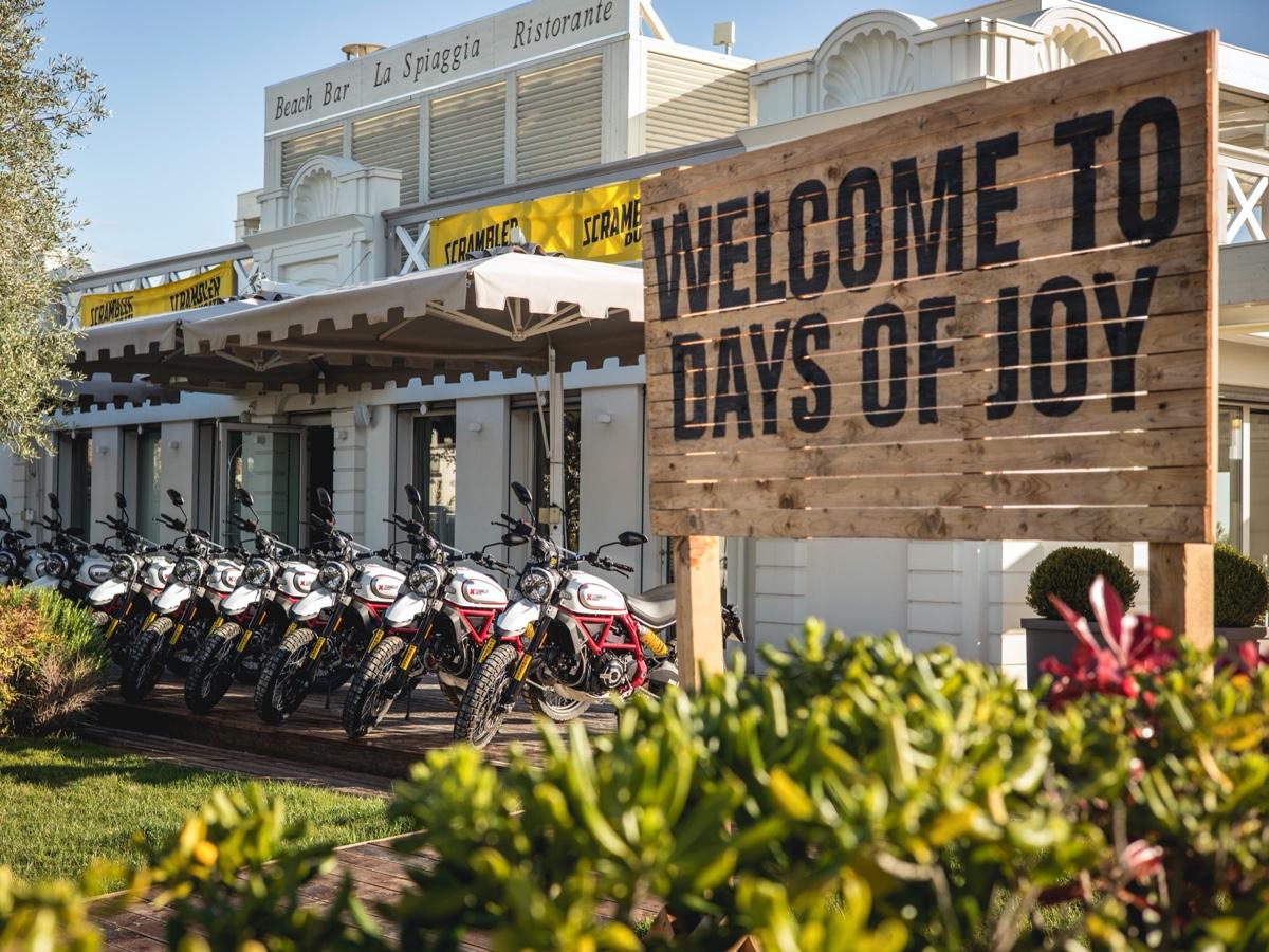 Ducati Days of Joy Scrambler