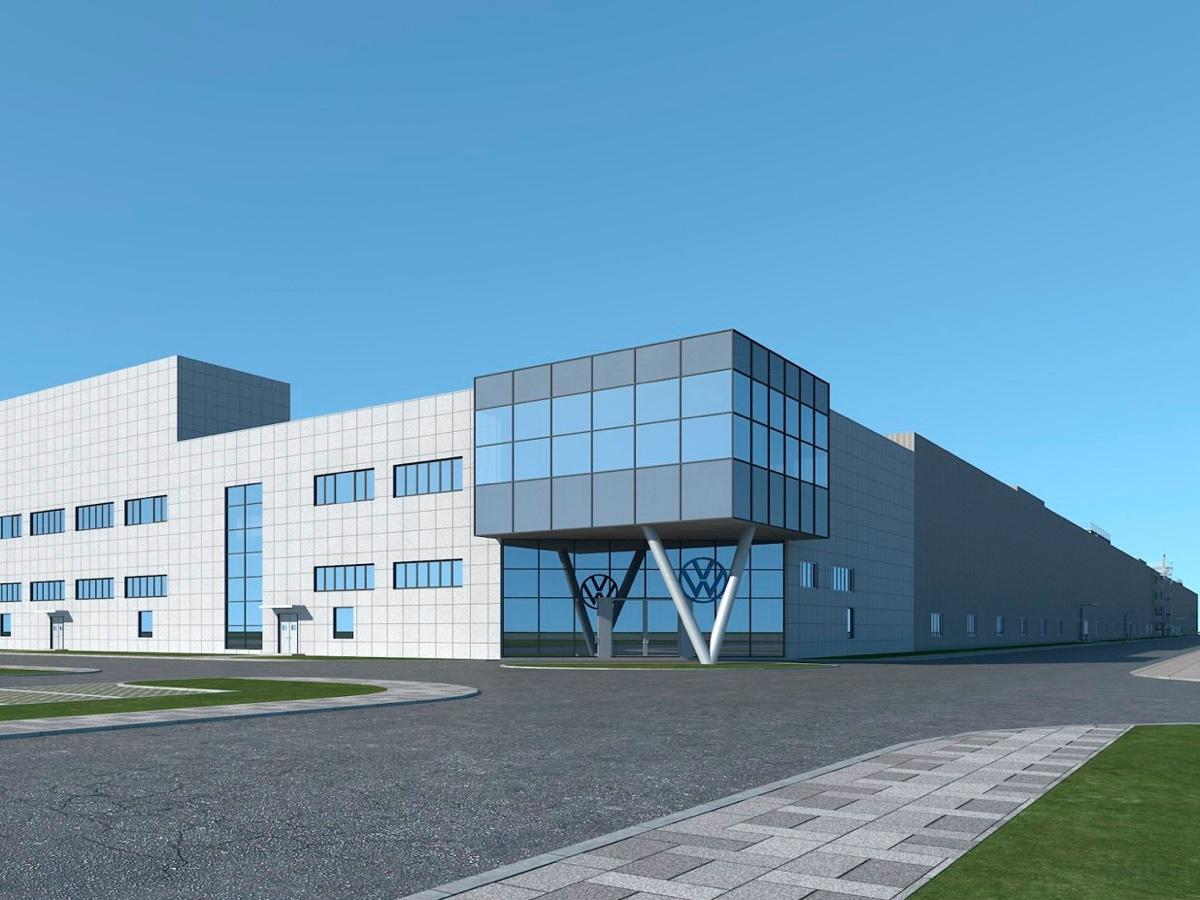 Volkswagen terzo impianto EV in Cina