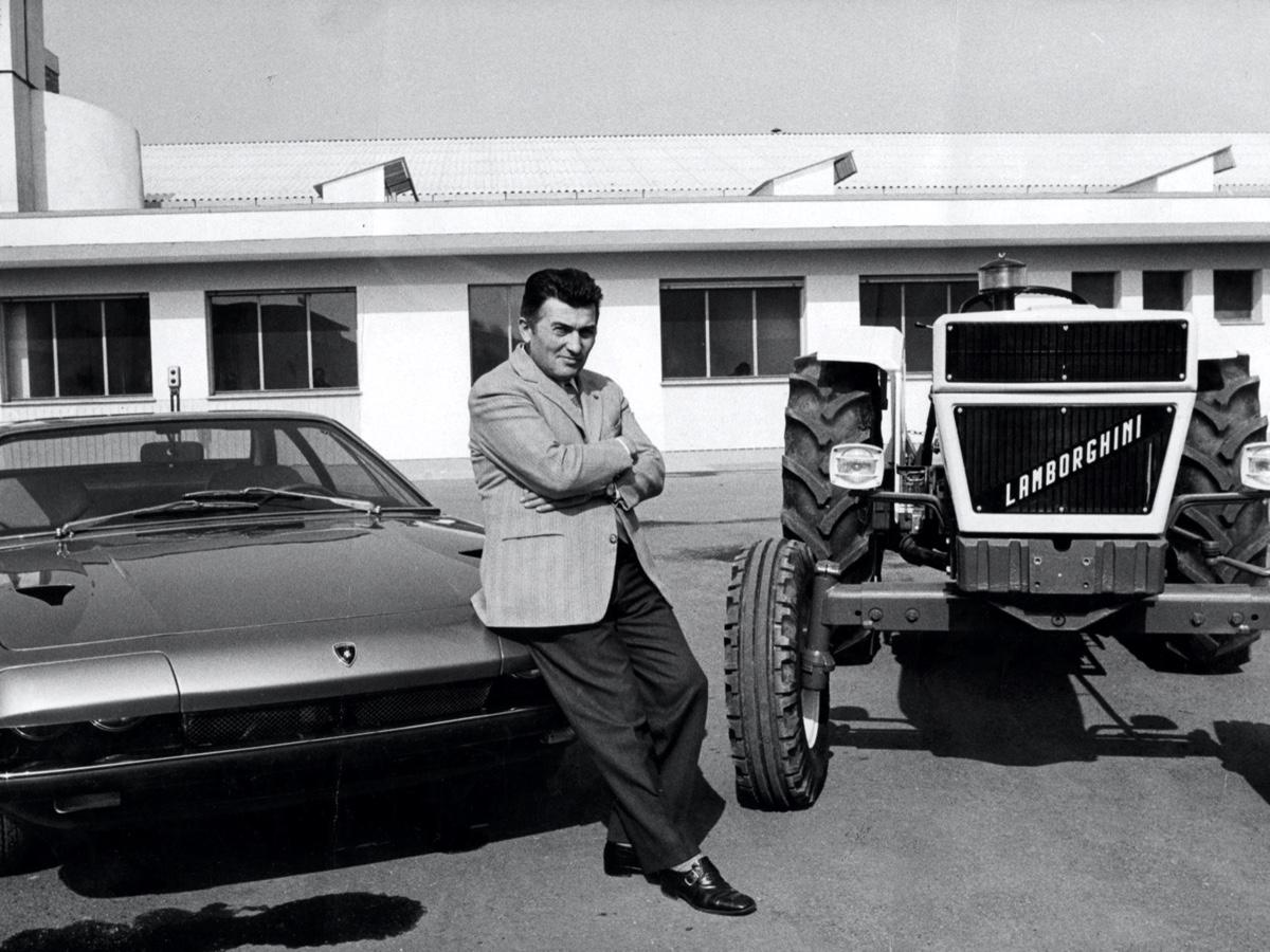 Lamborghini Ferruccio, fondatore