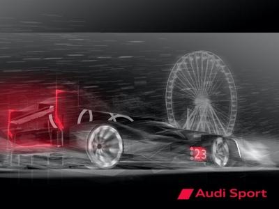 Nel 2023 Audi tornerà all'endurance con un'auto ad elevata elettrificazione