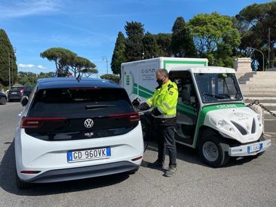 E-GAP con Carpoint per la ricarica on demand dei clienti Volkswagen a Roma