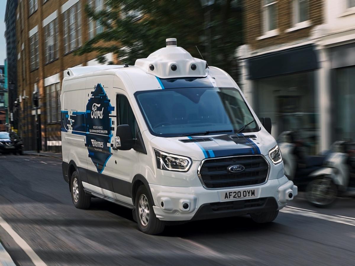 Ford-Hermes consegne con veicoli autonomi