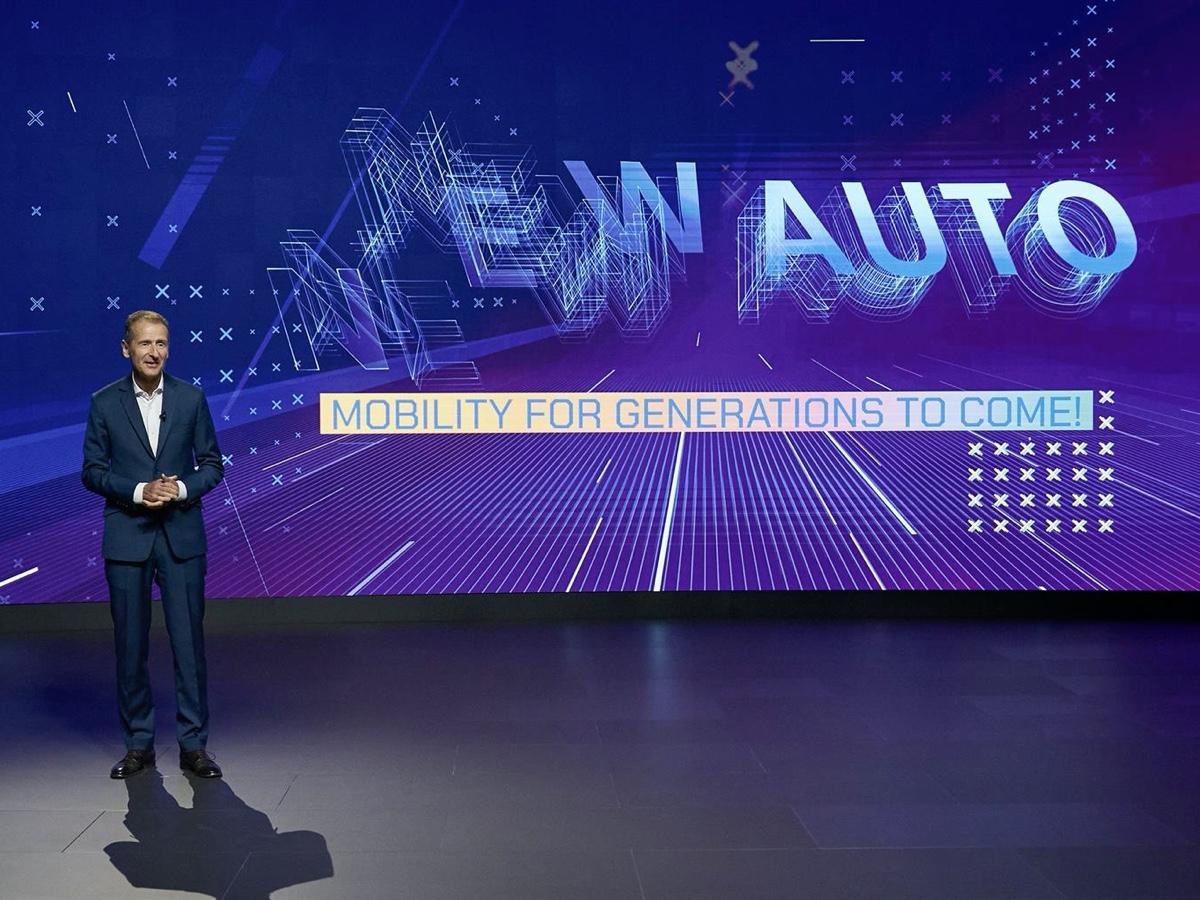Volkswagen Group presentazione strategia New Auto 2030
