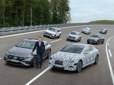 Dal 2025 tutte le nuove Mercedes saranno 100% elettriche