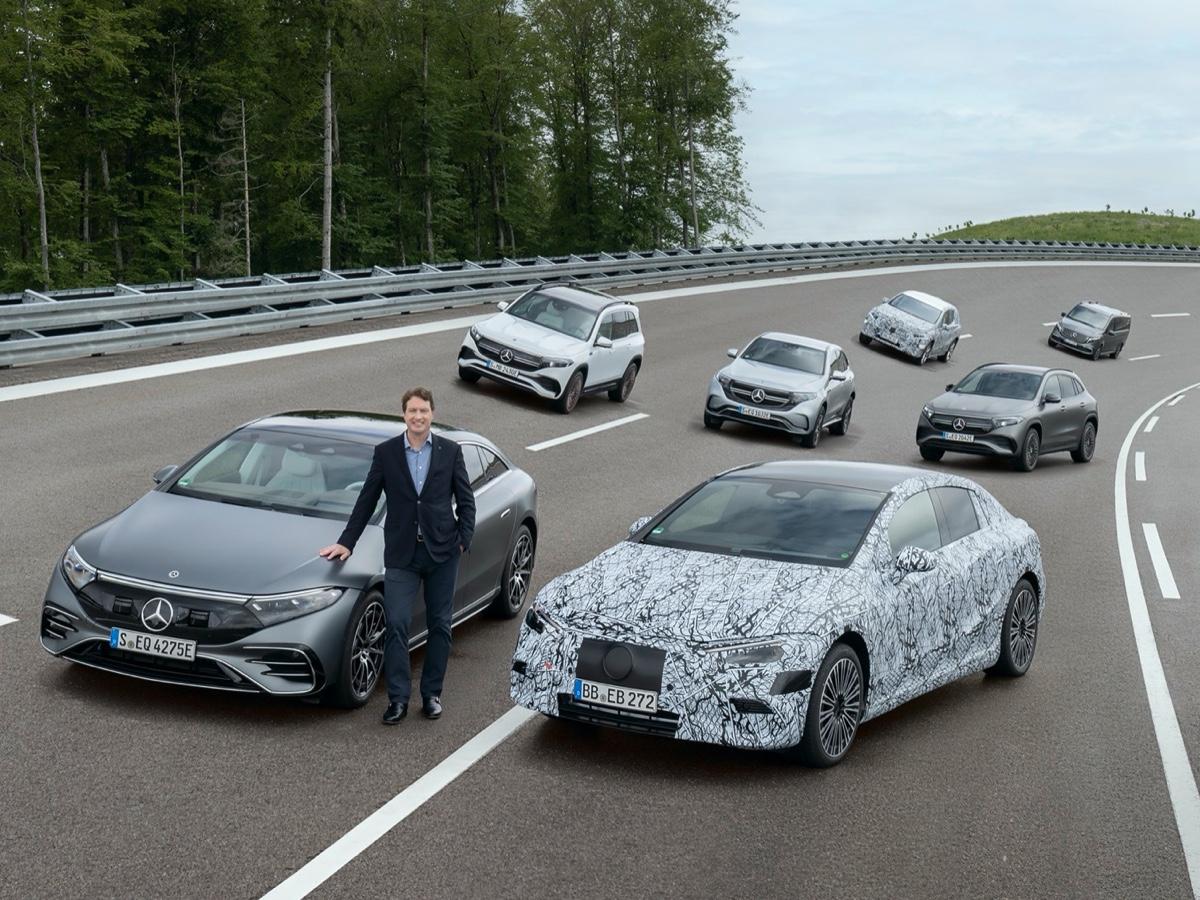 Mercedes si prepara al futuro 100% elettrico