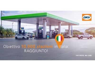 DKV raggiunge le 10mila stazioni di rifornimento in Italia