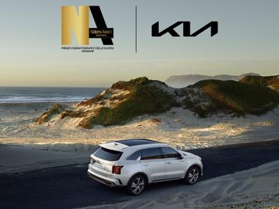 Kia è auto ufficiale del Nations Award di Taormina