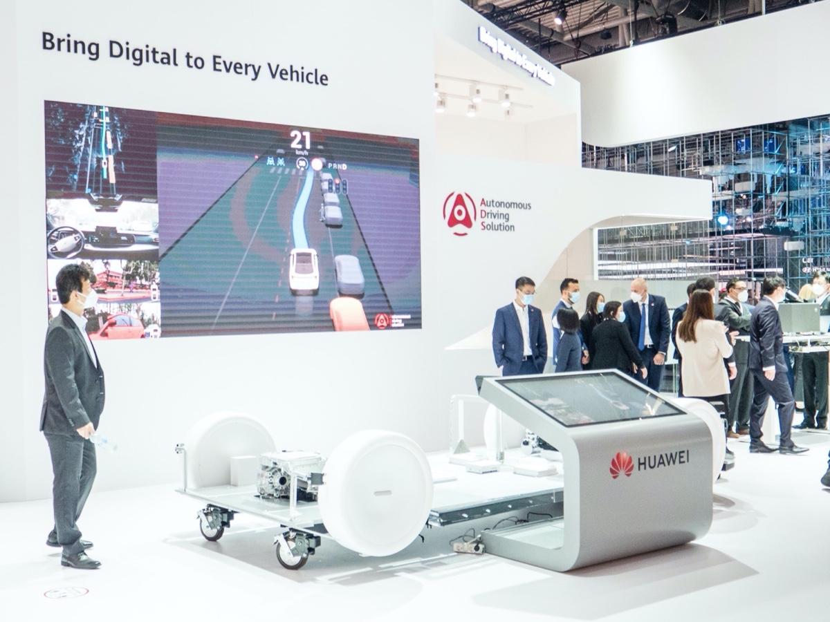 Huawei all'IAA 2021