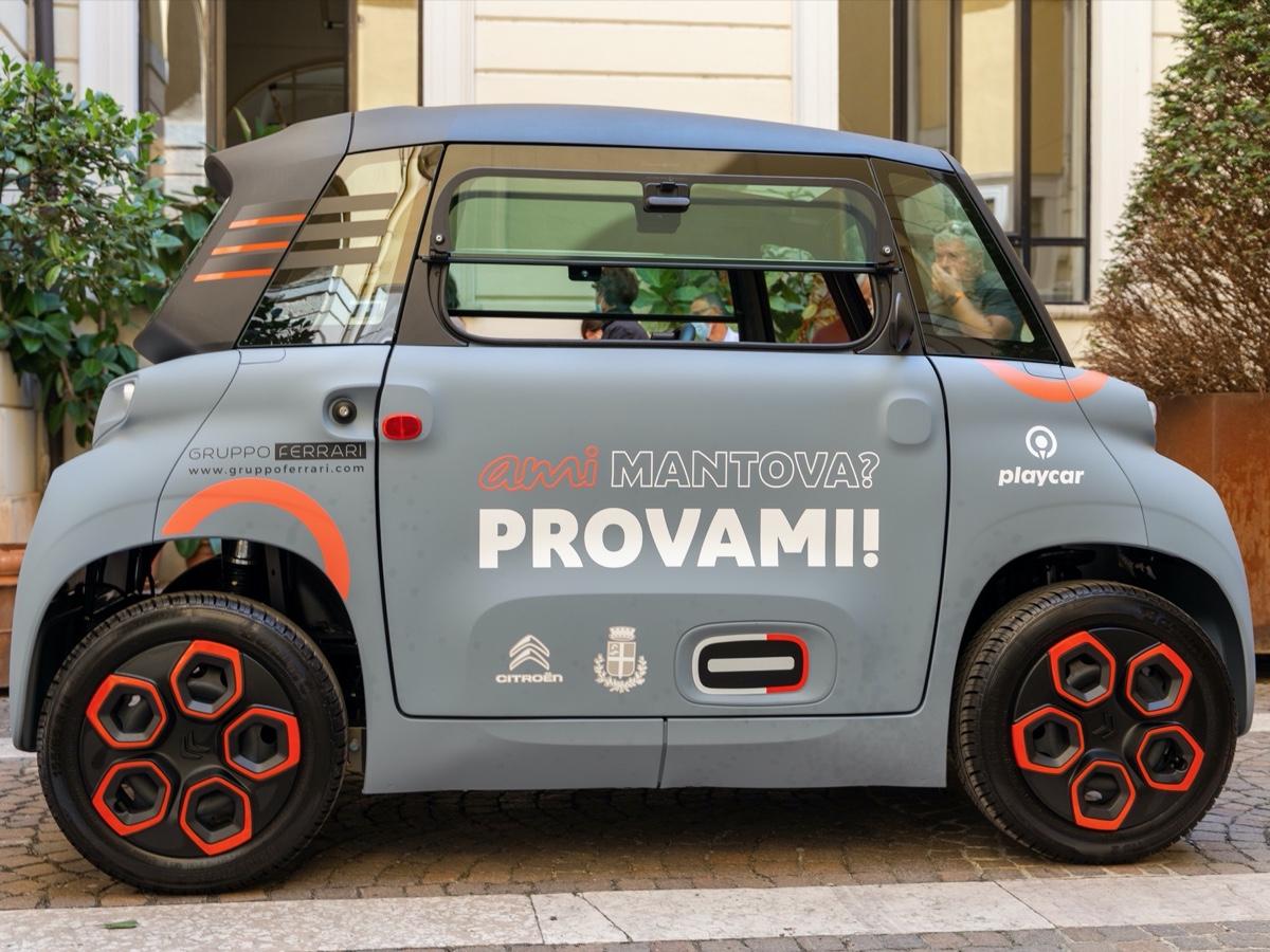 Citroën Ami car sharing Mantova