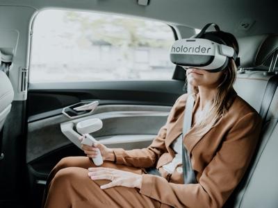 L'entertainment diventa immersivo con Audi holoride