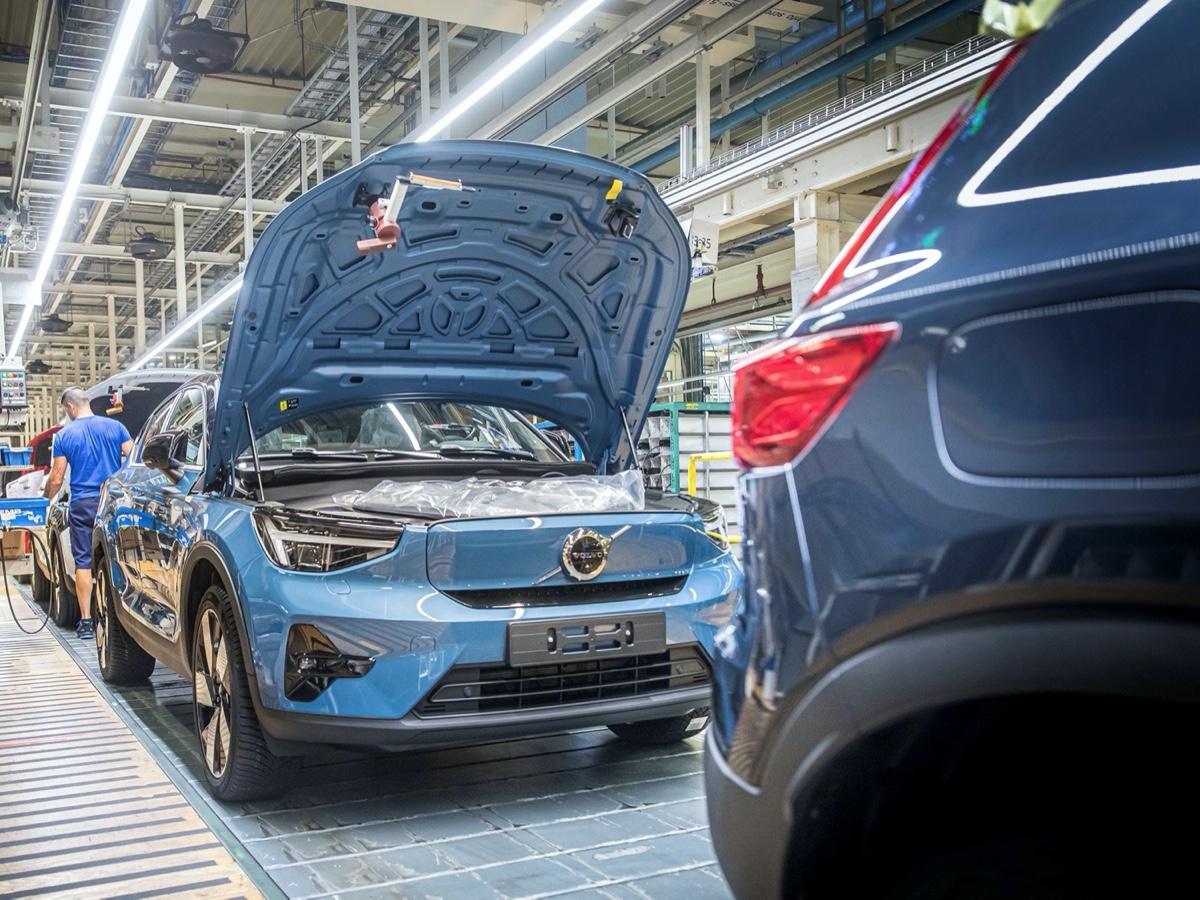 Volvo produzione C40 Recharge a Ghent